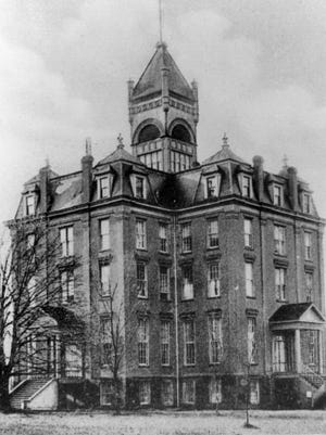Waller Hall is shown circa 1890.