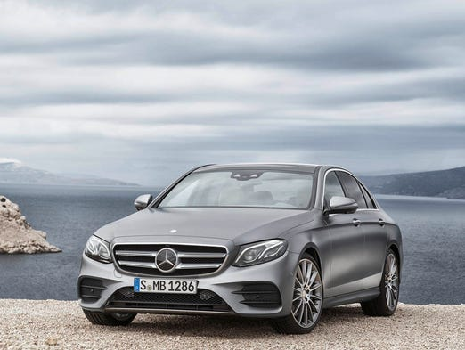 The 2017 Mercedes-Benz E-class, the E 400 4MATIC, AMG