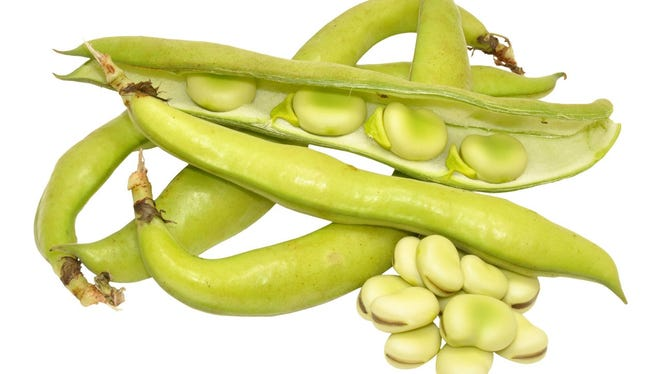 Fava beans.