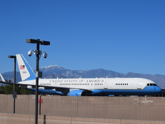 See Asean Leaders Planes Parked At Palm Springs Airport