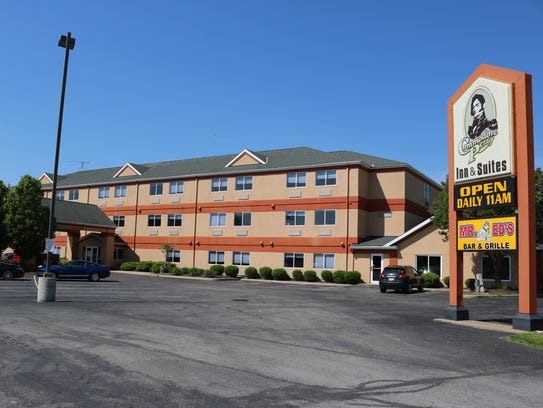 Commodore Perry Inn and Suites, west of the lift bridge,