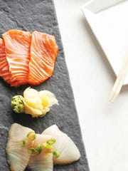 The sashimi tasted fresh—the all-important quality when it comes to raw fish.