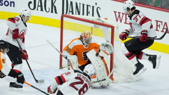 The Flyers will have to rely on Michal Neuvirth in the home stretch of the season.