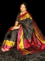 Vivaya Reddy, chemist and embroiderer.