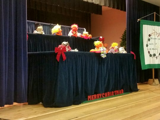 St. Matthew Lutheran Church presented guests with its annual puppet show on New Year's Eve.
