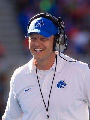 Boise State football coach Bryan Harsin.
