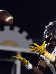The Chiefs of Piscataway High School take on the Vikings of South Brunswick in a varsity football game at South Brunswick High School on Friday September 23, 2016.