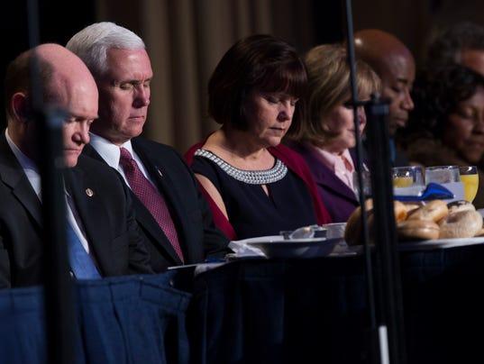 AP TRUMP PRAYER BREAKFAST A USA DC