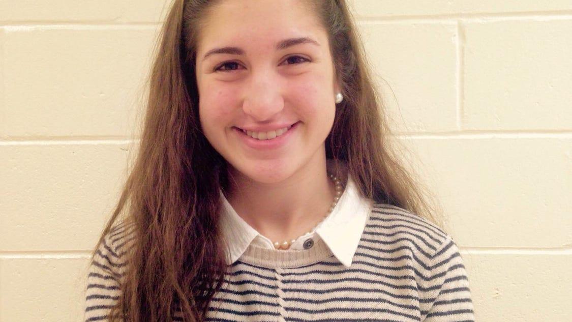 March grade 9-12 winner: Megan Burns