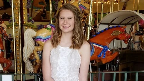 Kate Christofferson, 17,  was killed  in an off road crash on Sunday, June 4, 2017.
