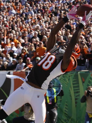 A.J. Green, one of the best receivers in the NFL, will be a handful for the Buffalo secondary Sunday.