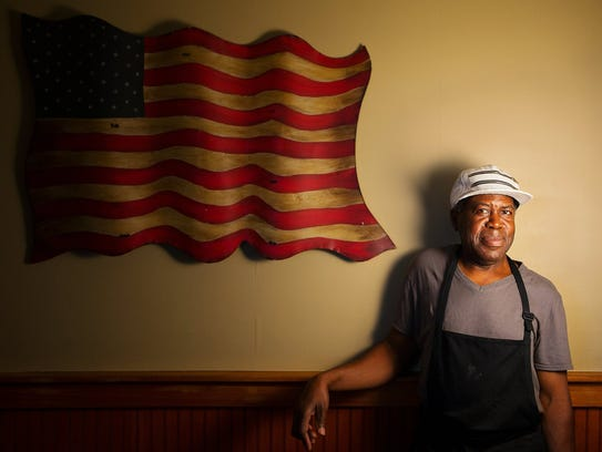 David Thomas has cooked at the Farmers Market Restaurant, the oldest restaurant in Fort Myers, since 1981.