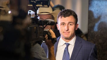 A Dallas judge told Johnny Manziel on Thursday morning he can not have any contact with his former girlfriend and he is not allowed to possess any firearms.