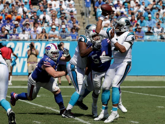 The Bills defense has been difficult to score against all season. Cam Newton and the Panthers managed only three field goals.