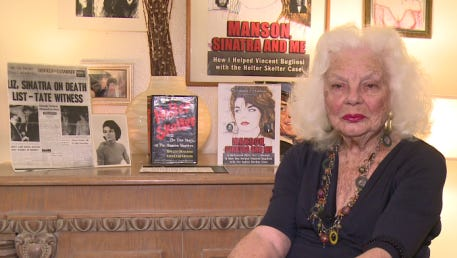 "Virginia Graham just released her new book, ""Manson, Sinatra and Me"""