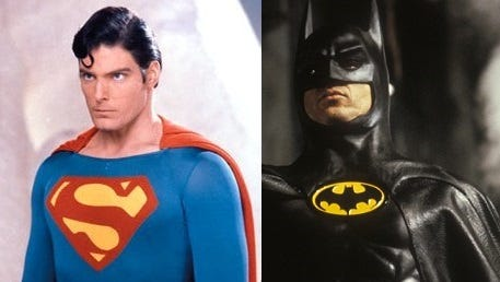 Who would win if Michael Keaton's Batman took on Christopher Reeve's Superman?