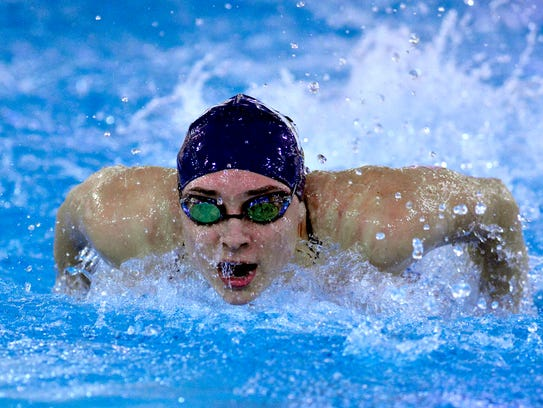 West York's Courtney Harnish won two gold medals at the PIAA Class 2-A state meet this past year. YORK DISPATCH FILE PHOTO