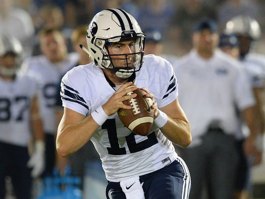BYU's Tanner Mangum had one of the most memorable two-game
