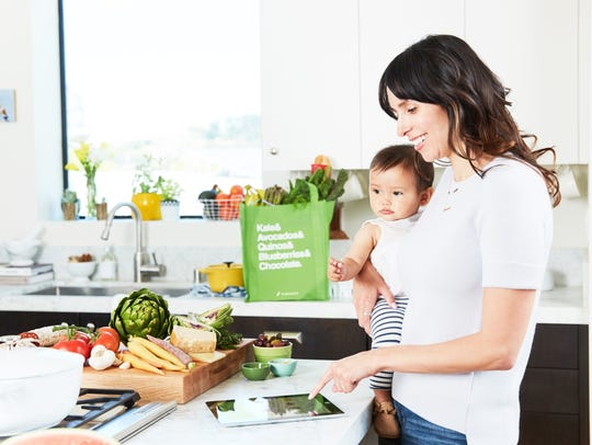 Instacart is popular for busy parents.