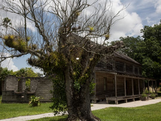 The Founders Residence, where Koreshan Unity founder Dr. Cyrus Teed lived, at the Koreshan State Historic Site. Guided tours are offered 10 a.m. Saturday and Sunday at the site in Estero. See History