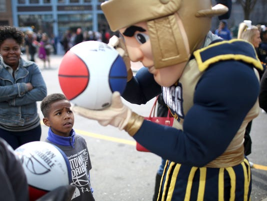 2016 SoCon Kids Fest and Downtown Dribble