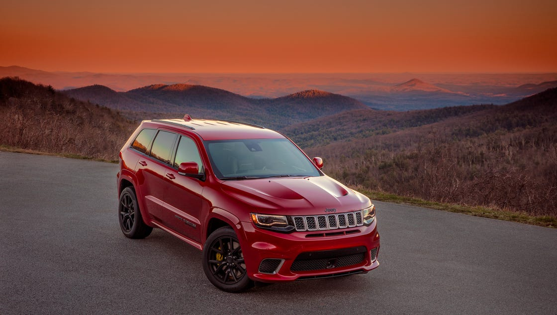 Jeep reveals its 707-horsepower SUV