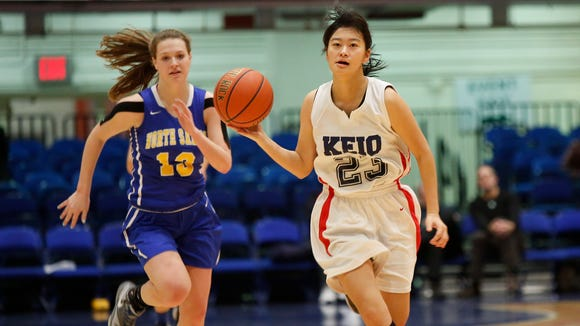 Keio defeats North Salem 46-31 in the class C semi-final