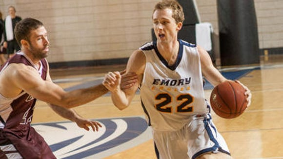 Emory standout Jake Davis earned D3hoops.com Second-Team All-America honors.