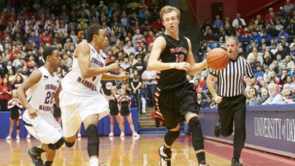 Franklin's Luke Kennard accepted an invitation to the USA Basketball U18 National Team Training Camp in June in Colorado Springs.