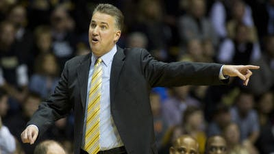 Purdue coach Matt Painter, shown here in the 2013-14 season opener against Northern Kentucky, will face two other former Boilermakers in the 2014-15 season.