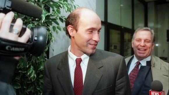 Charles McCormick (l) and John Speranza