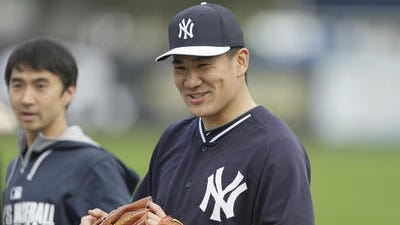 Manager Joe Girardi announced Masahiro Tanaka will make his Yankees debut on Saturday against the Phillies, but he won't be the starting pitcher.