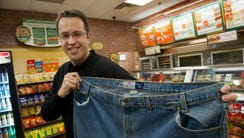 Jared Fogle rose to fame after losing 235 pounds by