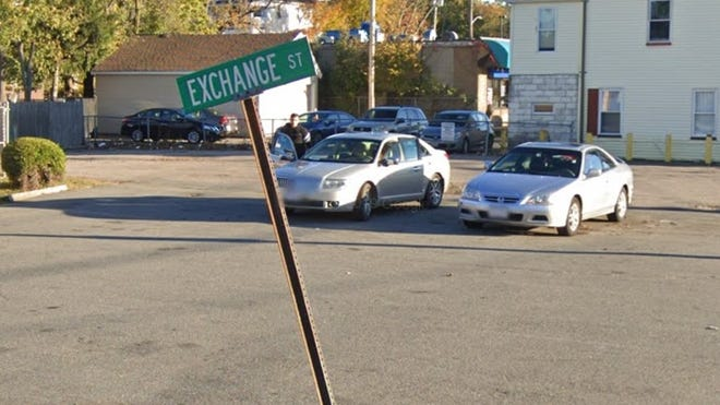 A shooting took place on Exchange Street on Friday, Oct. 30, 2020, in Brockton. No injuries were reported.