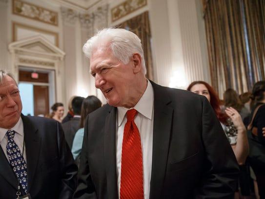 Former Virginia congressman Jim Moran has joined a