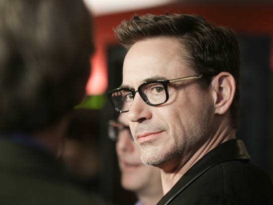 Robert Downey Jr. promoted his set-in-Indiana film