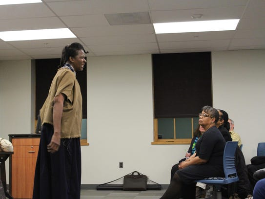 Dr. Daisy Nelson Century as a young Harriet Tubman.