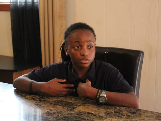 Jalen Kennedy, a sixth-grader at Morehouse Magnet School,