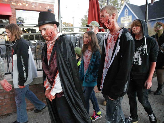 The Broad Ripple Zombie Walk will take place Oct. 21.