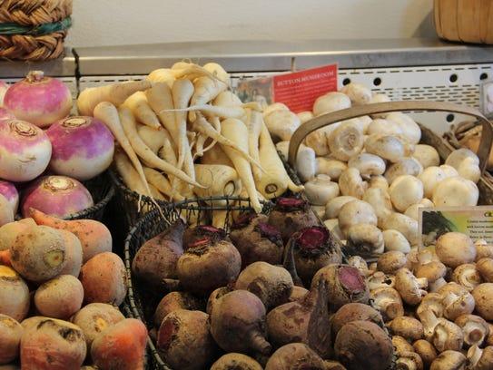 E.Z. Orchards sells mushrooms, but co-owner John Zielinski