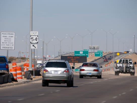 Crews will begin work on the U.S. Highway 54 ramps at Hondo Pass and Diana drives, which will require some closures for up to six months.