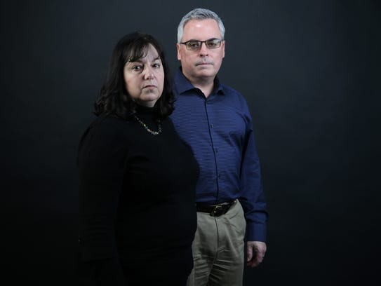 Andrea and Ed Brady are the parents of Northern Kentucky University student Natalie Brady, 20, who accused the school's vocal program director, Randy Pennington, of sexual harassment in October 2017.