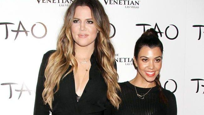 Khloé Kardashian and Kourtney Kardashian