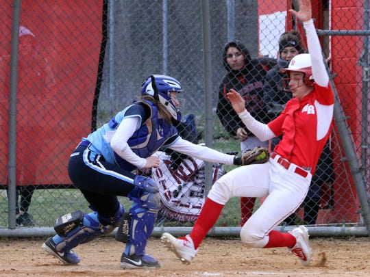 North Rockland defeated Ursuline 6-5 in a varsity softball