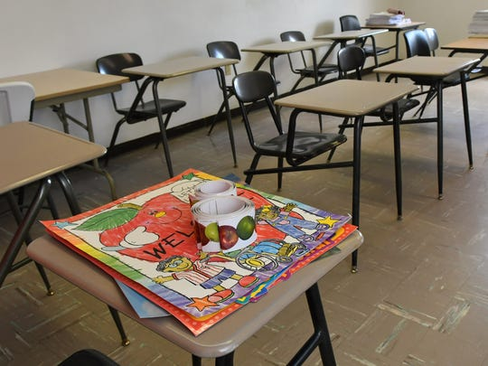 Classrooms being readied at Legacy Academy Charter