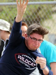 Deming High sophomore Tyler Wycoff competed at the