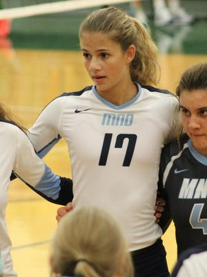 Natalie Steibel and her Mount Notre Dame teammates are among the area's best volleyball teams again.