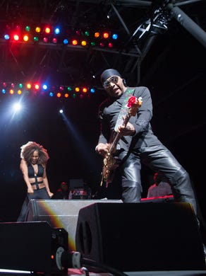 The Isley Brothers performs at Summerfest's BMO Harris Pavilion July 1.
