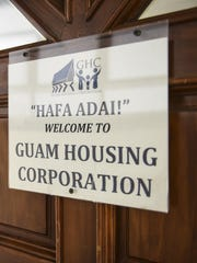 The Guam Housing Corporation office is shown in this