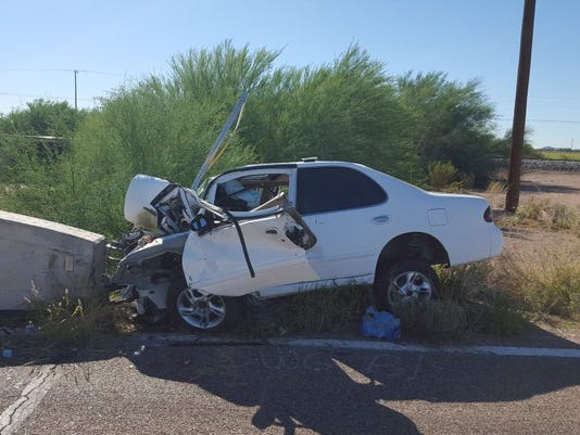 Gila Bend accident